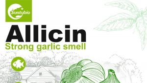 The benefits of allicin to animals